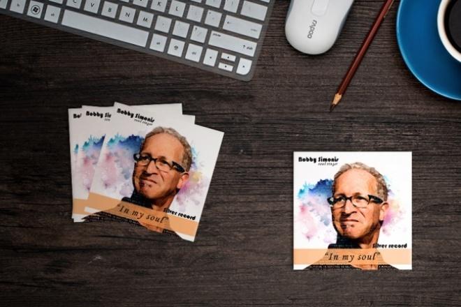 Создам обложку для cd. Наброски бесплатно 1 - kwork.ru