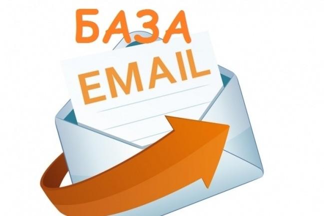 Соберу базу email с mail. ru и других почтовых сервисов 1 - kwork.ru
