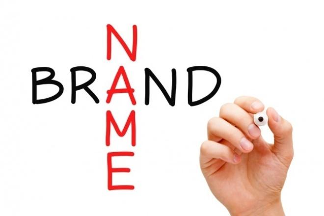 Придумаю название для компании , продукта, акции, программы 1 - kwork.ru