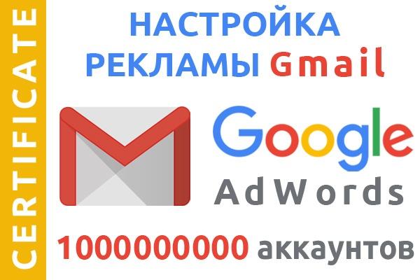 Реклама GSP в Gmail для 1 млрд пользователей компьютеров и мобильных 1 - kwork.ru