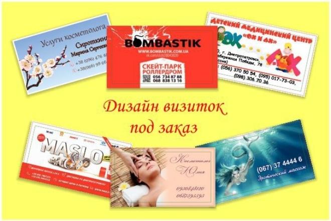 Выполню визитки 1 - kwork.ru