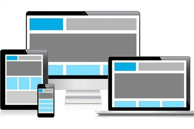 Адаптация сайта под мобильные устройстваВерстка и фронтэнд<br>Адаптация сайта под мобильные устройства и планшеты. Переделка меню разных уровней сложности. Адаптирую текущую версию страницы вашего сайта, интернет-магазина. Один из моих сайтов http://o70545hx.bget.ru/%D1%81%D0%B0%D0%BB%D0%BE%D0%BD/template_bootstrap/index.php<br>