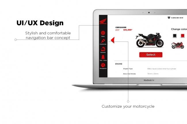 Разработаю индивидуальный дизайн сайта 1 - kwork.ru