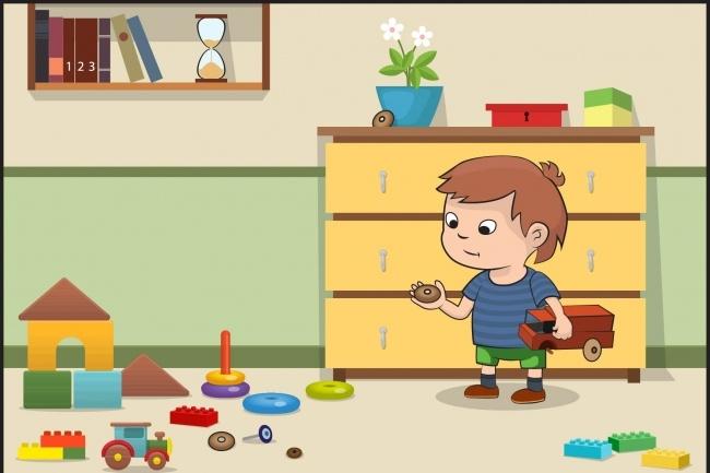 Детские ИллюстрацииИллюстрации и рисунки<br>Иллюстрации нарисованные в ручную и обработанные в фотошопе. Также могу изображение могу нарисовать в векторе, но цена немного увеличится.<br>