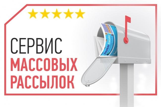 Собственный сервис массовых рассылок 1 - kwork.ru
