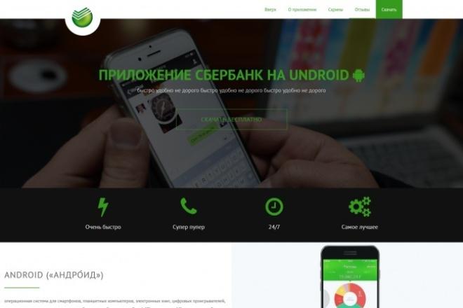 html верстка PSD макетов 1 - kwork.ru