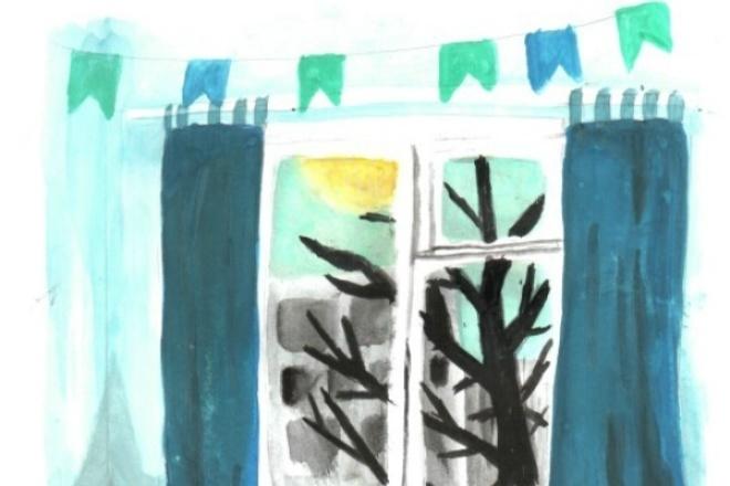 Нарисую иллюстрации к книгам или рассказам 1 - kwork.ru