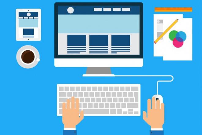 Сделаю дизайн сайта или Landing PageВеб-дизайн<br>Привет! Я веб-дизайнер. Делаю макеты сайтов и Landing Page в формате PSD. Готов максимально красиво и быстро сделать для Вас шаблон. Жду Ваших заказов :)<br>