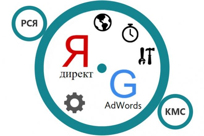 Создание и настройка рекламные компании Yandex, GoogleКонтекстная реклама<br>Если Вас не устраивает: • малое количество клиентов на сайте, • весь доход у Вас уходит на рекламу, • у Вас нет времени ждать индексации? Выход есть! Я создам и настрою Вам рекламные компании в Яндекс Директе или Google AdWords (Поиск, РСЯ, КМС, Мобильные, Баннеры). Краткий список того, что я сделаю: • Напишу максимально дешёвые и эффективные объявления. • Добавлю минус-слова • Настрою географическую сегментацию РК и таргетинг по времени. • Добавлю визитку и настрою быстрые ссылки. • Переминусовка, удаление дубликатов. • Дам рекомендации по запуску и сопровождению компаний. Что Вы получите? • Эффективное размещение на рекламных площадках. • Быстрый старт Ваших рекламных компаний - при заказе до 3000 запросов, запуск на 3 день. • Низкая стоимость создания рекламных компаний: ? 1 кворк за 400 объявлений. подарок: Бесплатное сопровождение Ваших РК после запуска в течение 1 недели!<br>