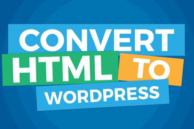 Натяжка верстки на WordPress 1 - kwork.ru
