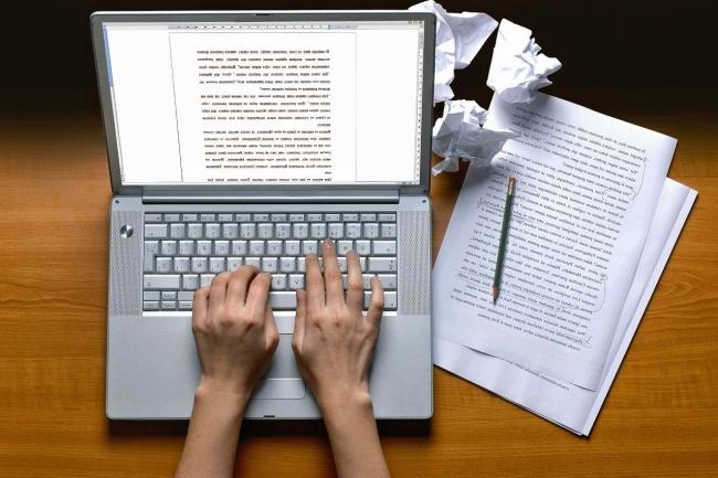 Грамотный набор текста - печатный, рукописный, английский текст 1 - kwork.ru
