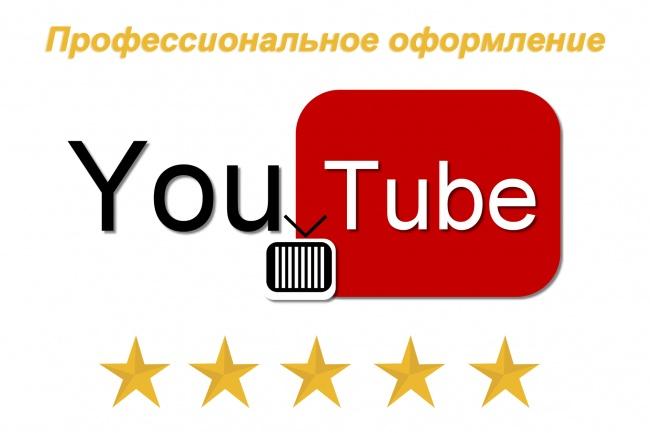 Профессиональное оформление канала YouTube 1 - kwork.ru