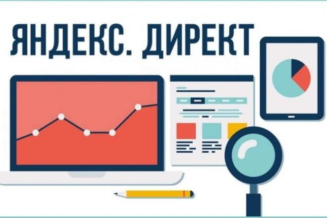 Настройка Яндекс Директ - контекстной рекламы 100 объявлений 1 - kwork.ru