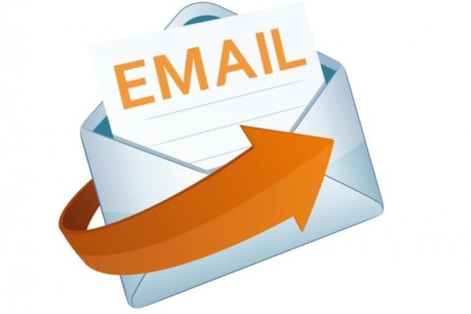 Вручную разошлю письма на email-адреса по вашей базеE-mail маркетинг<br>Вручную, в короткие сроки, разошлю письма (до 500 штук) на еmail-адреса вашей базы. Ну и конечно, предоставлю отчет о проделанной работе. Есть свои базы(базы мебели, базы строительных компаний, звезд шоубизнеса) по которым смогу сделать рассылку!<br>