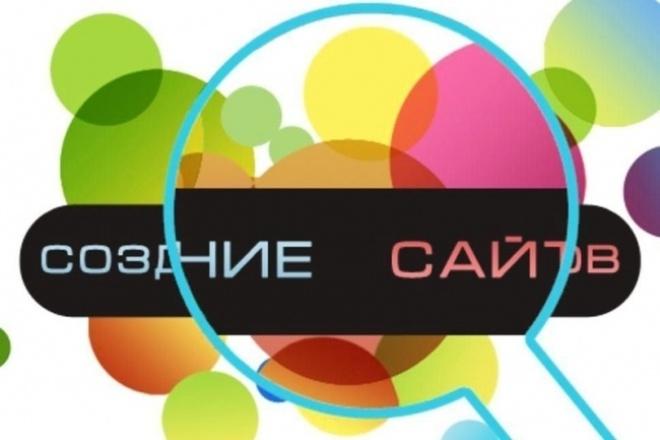 Сделаю сайт landing page 1 - kwork.ru