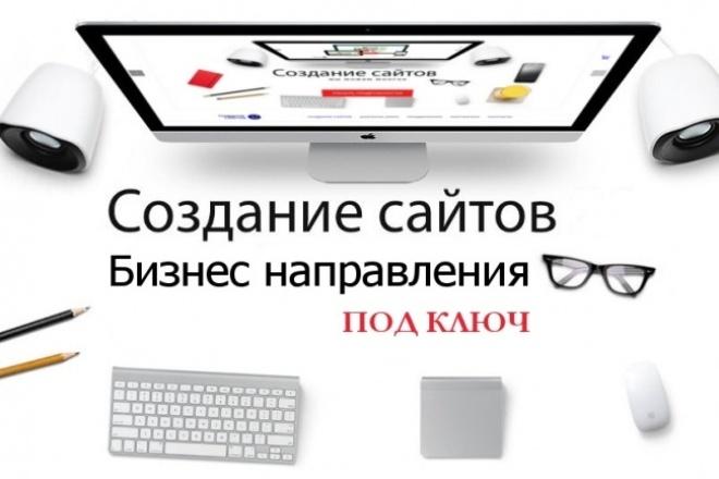 Качественное и креативное создание сайта 1 - kwork.ru