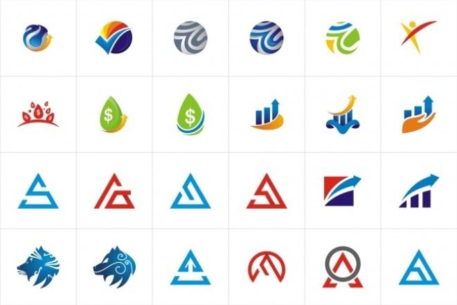 1068 редактируемых логотипов 1 - kwork.ru