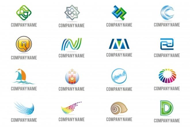 1068 редактируемых логотипов 3 - kwork.ru