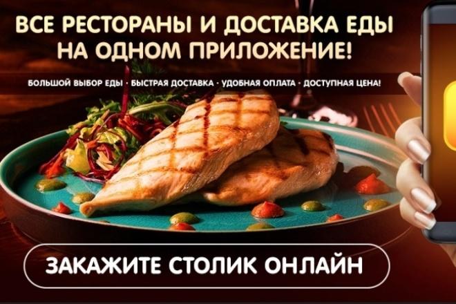Рестораны android приложение для ресторанов 1 - kwork.ru