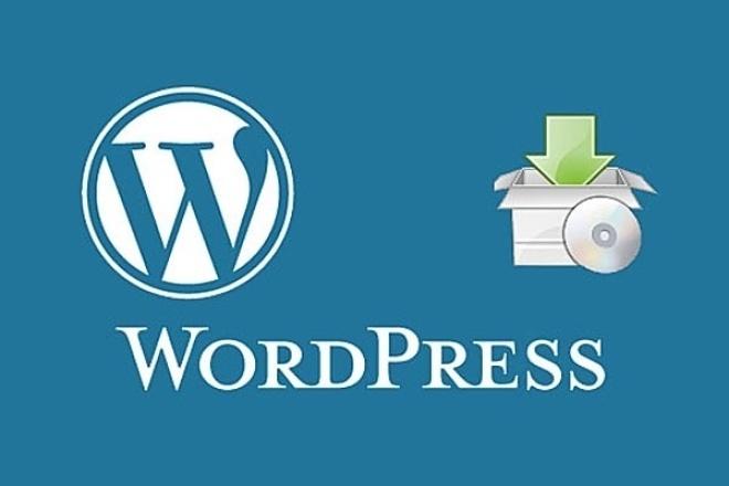 Установлю или перенесу сайт Wordpress на хостинг 1 - kwork.ru