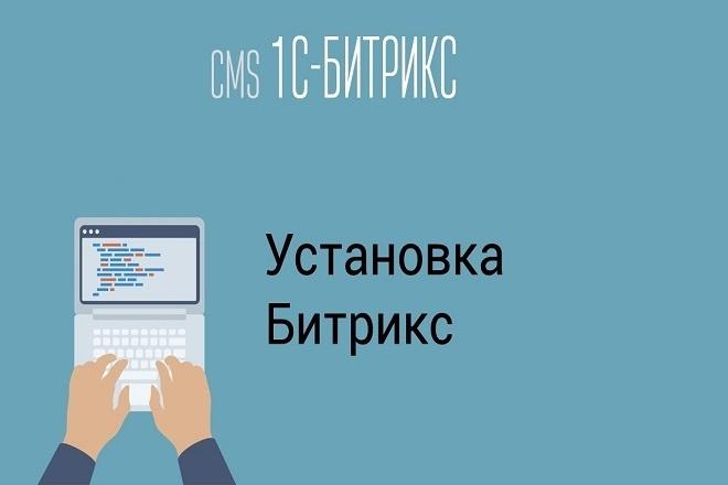 Установка 1С Битрикс на хостинг 1 - kwork.ru