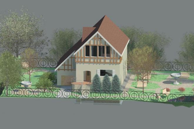 Спроектирую жилой дом в Revit 1 - kwork.ru