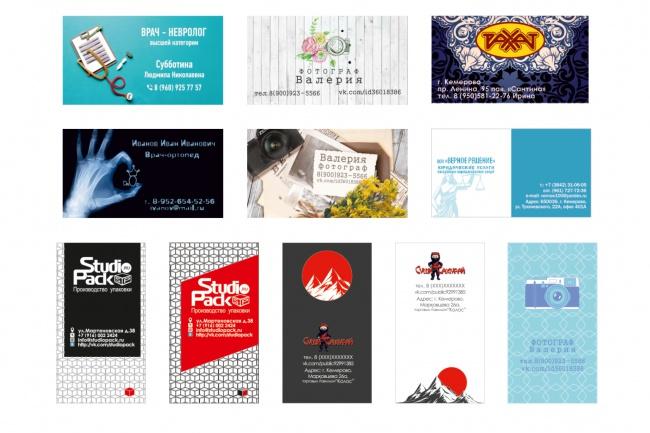 Сделаю визиткуВизитки<br>Рада предложить Вам услугу по созданию визитки, которая подчеркнет Вашу индивидуальность, особенность работы и расскажет о вас без лишних слов. Все что вам необходимо написать мне.<br>