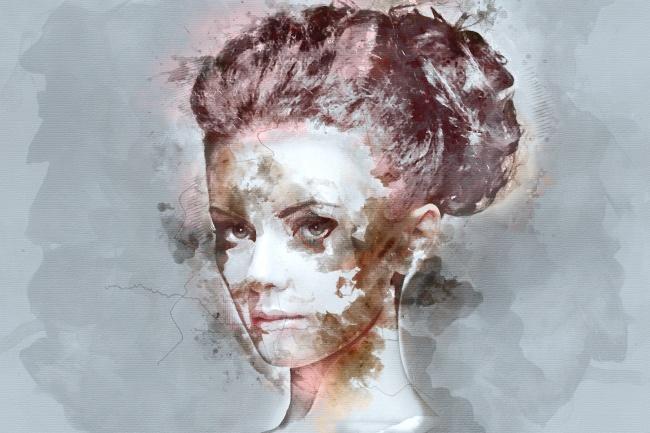 Стилизация под акварельИллюстрации и рисунки<br>Создам портрет или другую картинку, стилизованную под акварель, по Вашей фотографии. Готовый результат в хорошем качестве и высоком разрешении.<br>