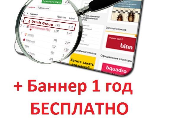 Размещу Вашу страницу на 2 сайтах Вечно + бонусРеклама и PR<br>Размещу Вашу страницу на своих сайтах www.migts.ru и www.maksimum.info c высокой посещаемостью на 1 год. Ваши баннеры, ссылки, SEO будут работать. Отличная альтернатива созданию одностраничного сайта! Своя страничка в интернете вечно! ВЫ получаете ! 1 Страницу на сайте www.migts.ru 2 страницу на сайте www.maksimum.info 3 Баннер на 1 год размер 250*130 на одном из сайтов на выбор 4 Интернет-магазин сроком на 1 год Бесплатно К рекламе принимаются только материалы легального содержания, не нарушающие законы РФ и нормы этики.<br>