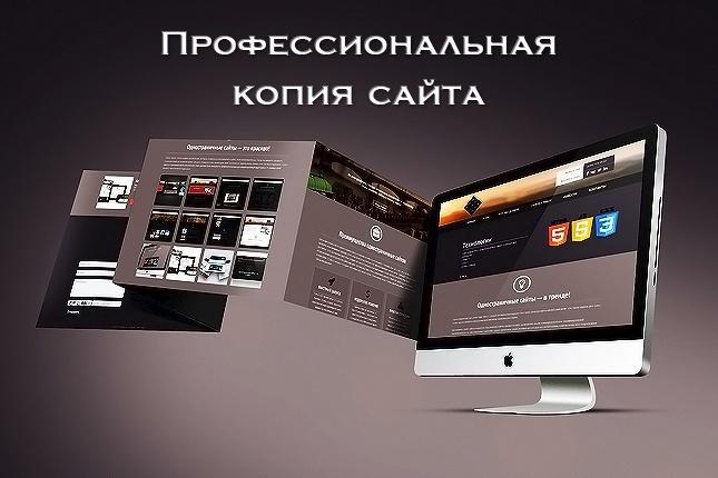 Скопирую Landing page, одностраничный сайт или многостраничный Landing 1 - kwork.ru
