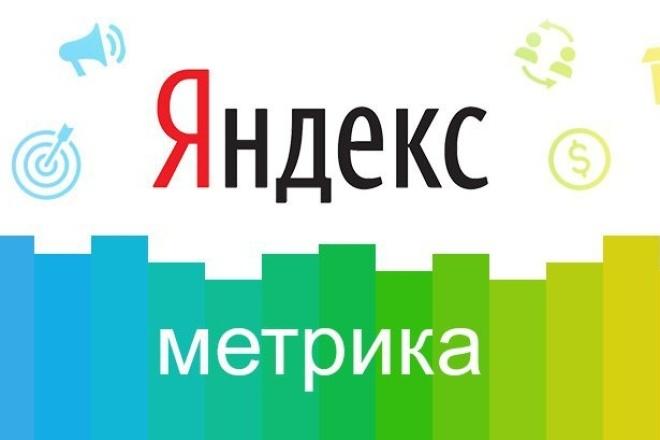 Установлю Яндекс.Метрику 1 - kwork.ru
