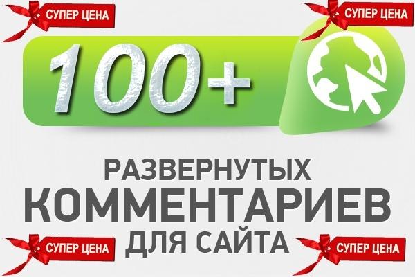 100 Уникальных комментариев на ваш сайт - ручная работа 1 - kwork.ru