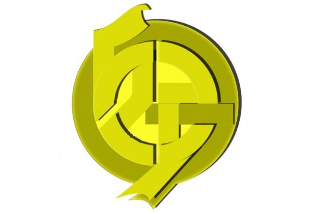 Создам фирменный знак,  логотип, эмблему,  или стилизованное сообщение 3 - kwork.ru