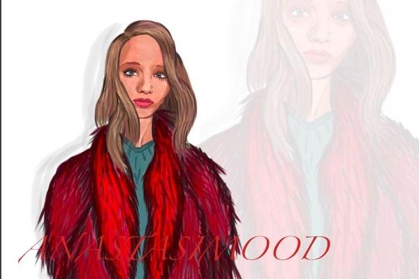 Портрет в стиле fashion 1 - kwork.ru