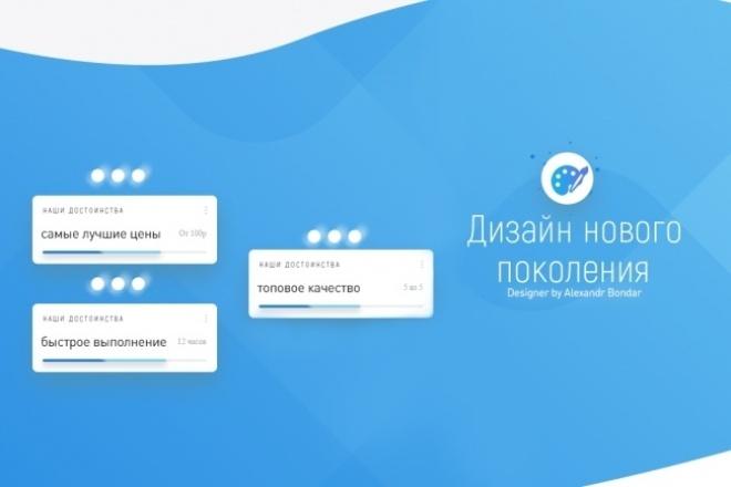 Оформление сообществ соцсетей , youtube 1 - kwork.ru