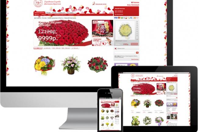 Современный интернет-магазин на Woocommerce 1 - kwork.ru