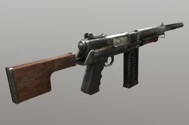 Создам любую 3D модель оружия по вашим фотографиям 1 - kwork.ru