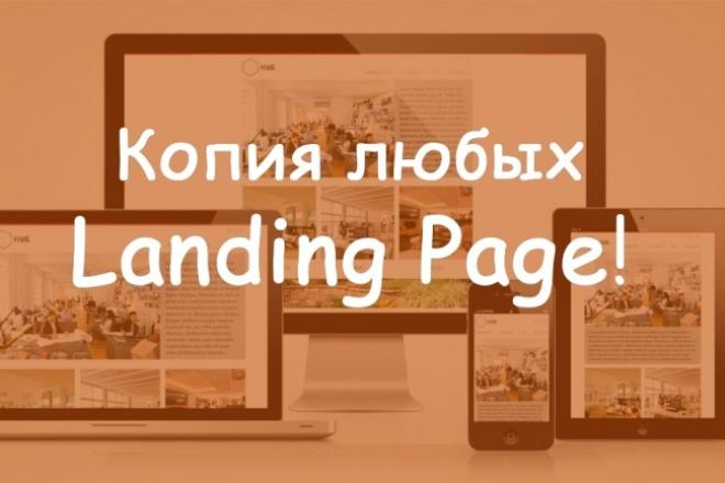 Копия любых Landing Page 1 - kwork.ru
