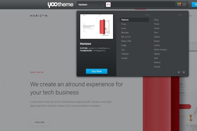 Сайт на шаблоне yootheme (joomla) самый красивый дизайн 1 - kwork.ru