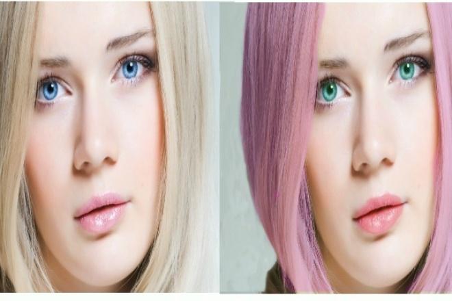 Сделаю красивые фотоОбработка изображений<br>Уберу лишние предметы, изменю цвет волос,цвет глаз, изменю задний фон. Если есть вопросы пишите отвечу на все ваши вопросы.<br>