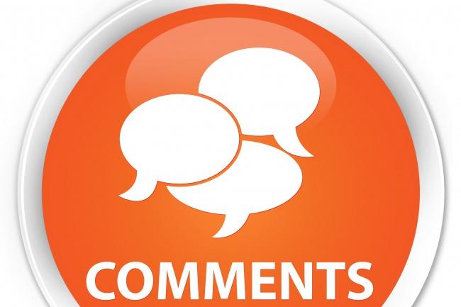 Вам нужны комментарии на сайт - я решу эту задачу уже сегодняНаполнение контентом<br>У вас уже есть готовый сайт, блог, форум, площадка и вам хотелось бы их оживить комментариями, значит вы попали по адресу! Все комментарии создаются мною лично и проверяются программами на уникальность. Пишутся вручную и размещаются на вашем сайте. Стиль написания комментариев вы задаете в своем задании, исходя из этого создаются уникальные работы, которые наполнят ваш ресурс оригинальностью и уникальностью: могу писать от лица взрослых, специалистов, родителей, детей, подростков, женской аудитории. У меня богатый опыт работы со многими направлениями, начиная от текстильной тематики, сайтов для взрослой аудитории, спортивными сайтами реализующими спортинвентарь, интернет-магазины компьютерной техники, магазины бытовой, садовой техники. Буду рад оживить ваши статьи, тексты, товары, качественными работами - комментариями! От вас потребуется ссылка на ваш сайт, на котором необходимо провести, либо систематически проводить, наполнение, срок и периодичность его наполнения, стили написания, которые необходимо использовать при написании. Чем полнее Вы зададите свои требования к написанию комментариев, тем качественнее вы получите итоговый результат!<br>