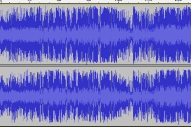 Обработка звукаРедактирование аудио<br>- удаление шумов; - объединение дорожек; - добавление эффектов; - конвертирование в нужный аудиоформат; - склеивание записей; - разбиение больших аудиофайлов;<br>