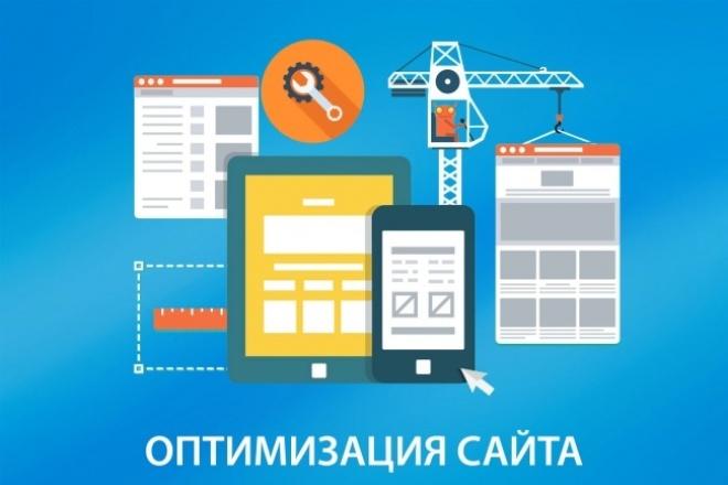 SEO оптимизация вашего сайта, 15 страниц 1 - kwork.ru