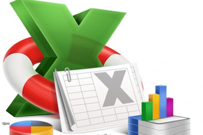 Помогу с работой в Excel - Эксель 1 - kwork.ru