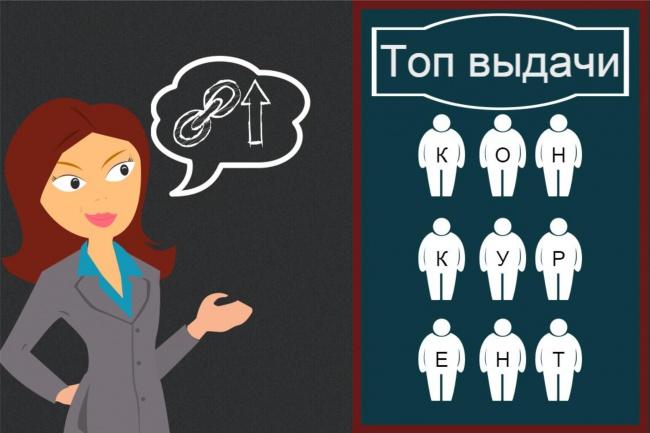 дам 50 сайтов Вашей тематики, где можно оставить обратную ссылку 1 - kwork.ru