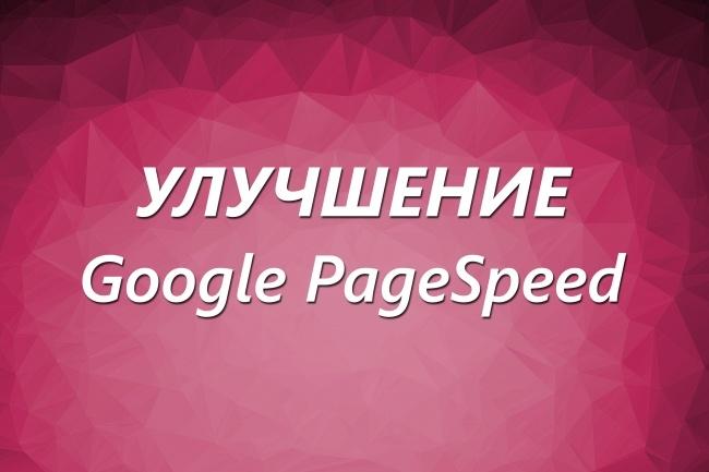Улучшение показателей Google PageSpeed, ускорить сайт 1 - kwork.ru