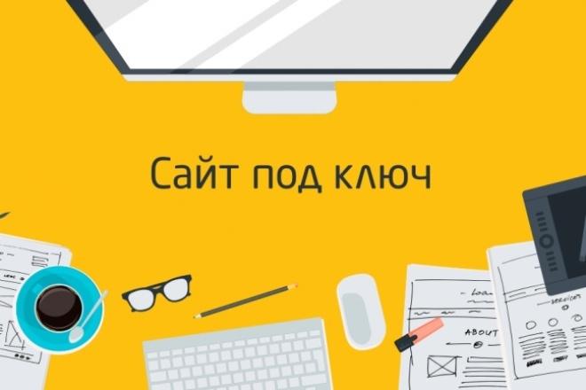Сайт на WordPressСайт под ключ<br>У вас есть бизнес или интересная идея? Не знаете как донести информацию в массы? Вам нужен сайт! Адаптивный сайт с современным дизайном - вот что вы получите на выходе.<br>
