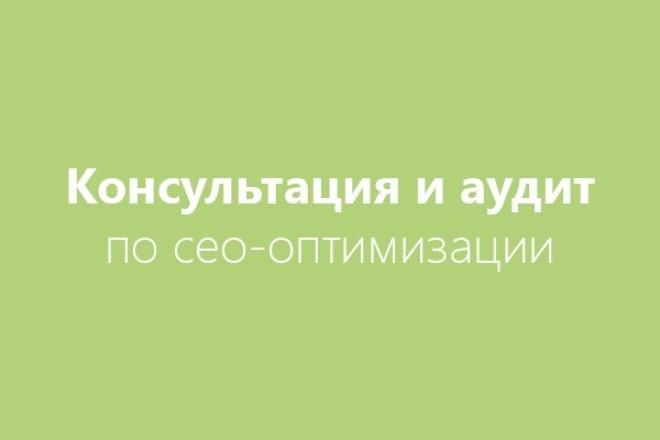 Проведу консультацию в skype по сео-оптимизации и сео-продвижению 1 - kwork.ru