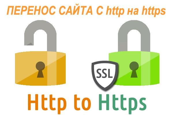 Перенос сайта с http на httpДомены и хостинги<br>Переносу сайта с http на http Предложу сертификат по хорошей цене или можно использовать бесплатный сертификат.<br>