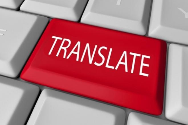 Сделаю качественный перевод c русского на китайский язык 1 - kwork.ru